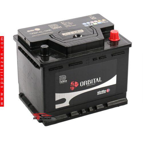باتری اتمی اوربیتال پریمیوم 60 آمپر