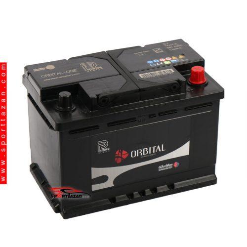 باتری اتمی اوربیتال پریمیوم 74 آمپر