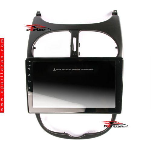 پخش مولتی مدیا 9 اینچ پژو 206 ویگو