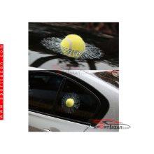 برچسب شکست شیشه و توپ خودرو (طرح های مختلف)