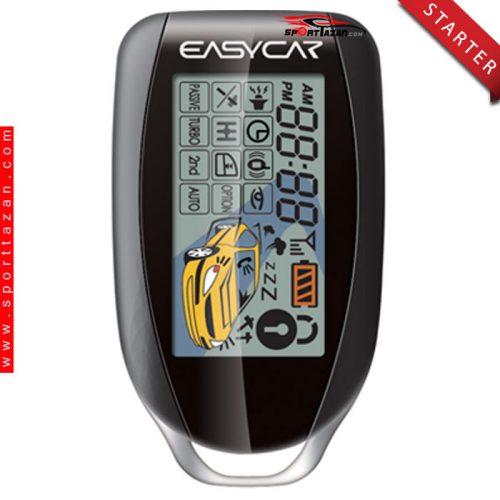 دزدگیر تصویری استارتر ایزیکار مدل E6AS