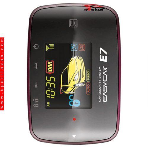 دزدگیر تصویری ایزیکار مدل E7