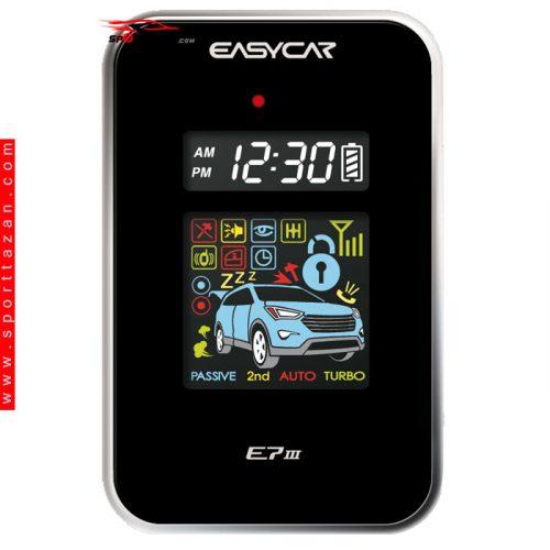 دزدگیر تصویری ایزیکار مدل E7 III